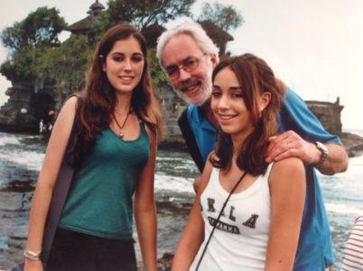 Mark Groot en zijn twee dochters